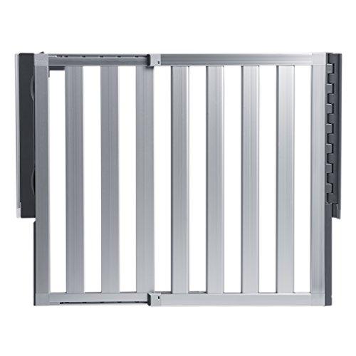 Hardware-mounted baby gates
