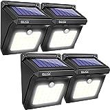 BAXIA TECHNOLOGY BX-SL-101 Solar Lights Outdoor 28 LED Wireless Waterproof Security Solar Motion Sensor Lights, (400LM,4...